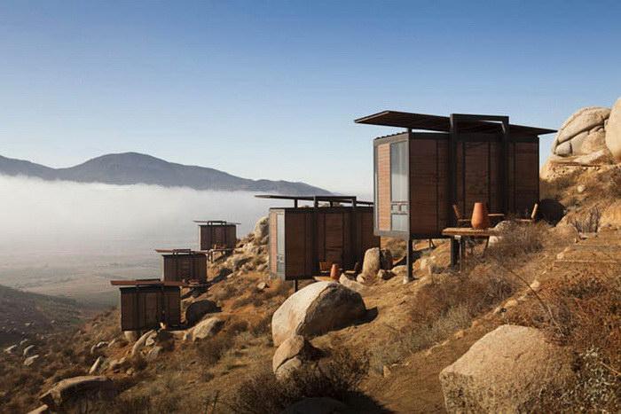 Экологичный отель в Мексике