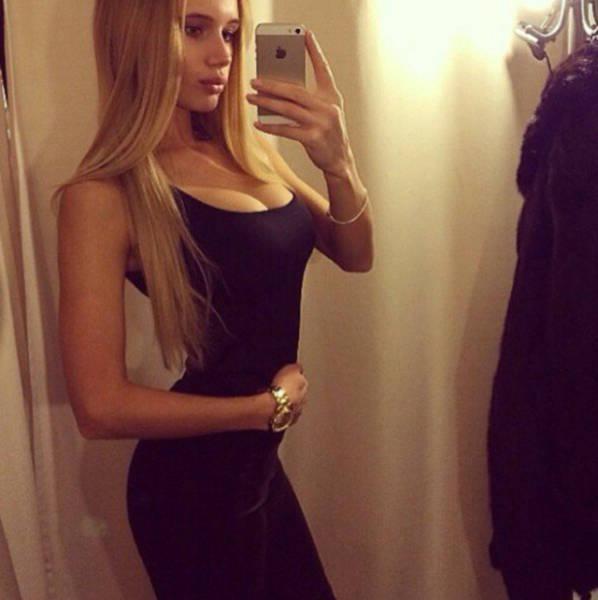 Красивые девушки на фото из Instagram