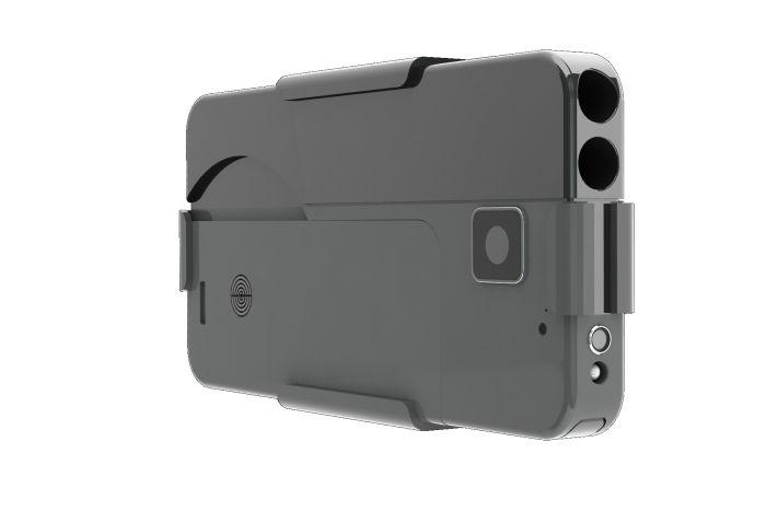 Пистолет для самообороны, замаскированный под смартфон