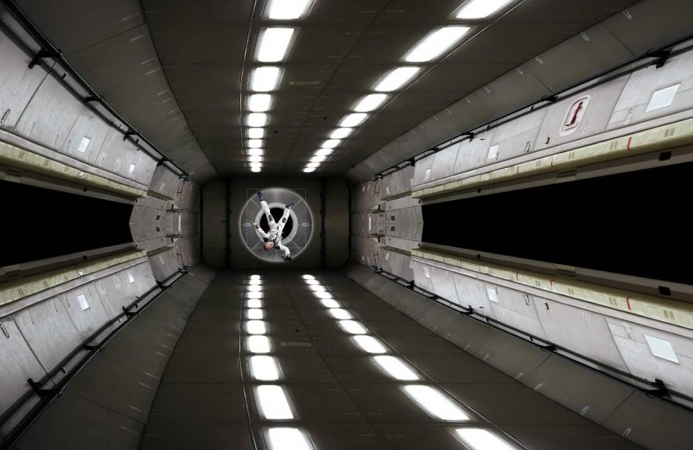 Выставка визуализаций Космическое пространство от художника Майкла Наджара