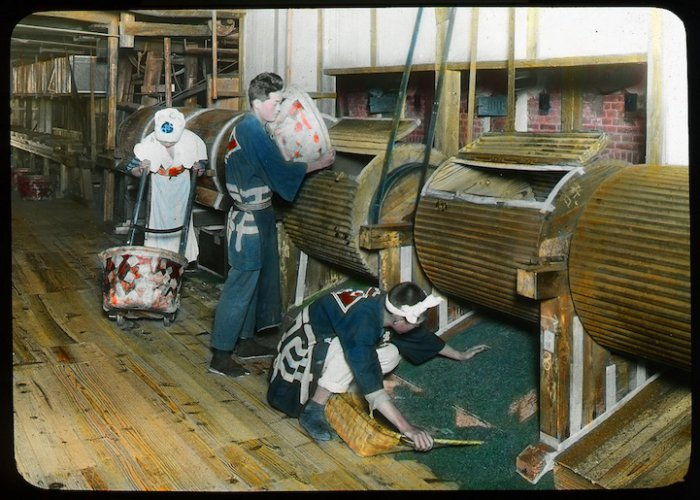 Чайная история Японии на фотографиях столетней давности