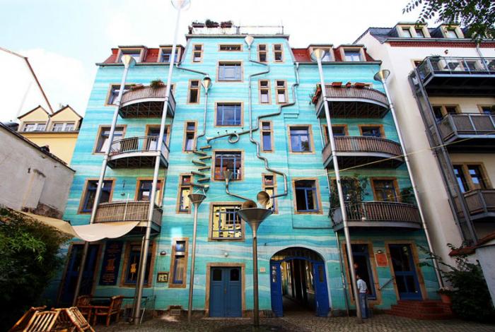 Экстравагантные жилые дома из разных стран мира