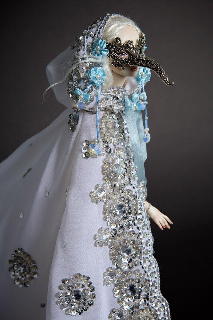 Необычные фарфоровые куклы ручной работы
