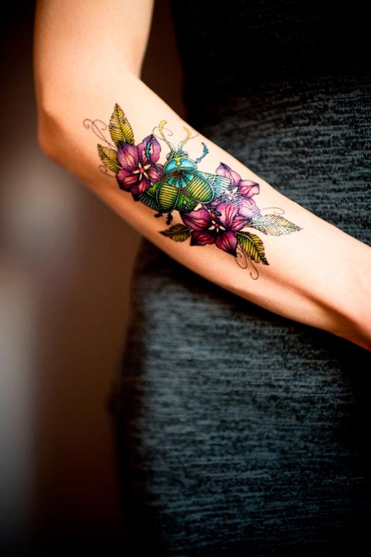 Временные татуировки от Tattoo You