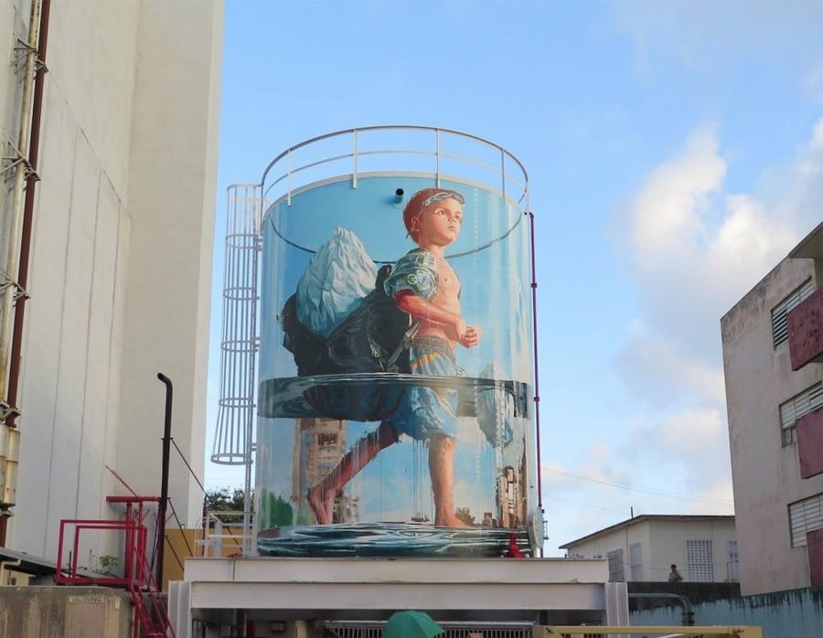 20 крутых уличных рисунков на грани искусства и хулиганства