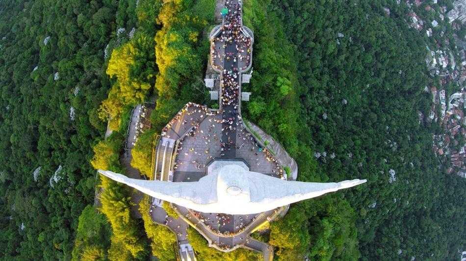 20 прекрасных снимков с высоты птичьего полета
