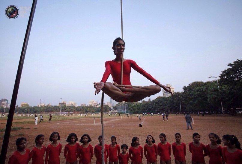 Древний индийский спорт – маллакхамб