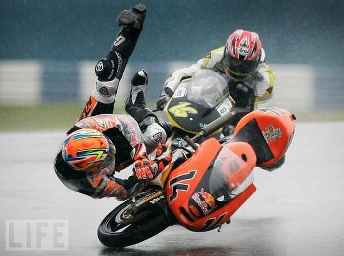 Мотоциклетные аварии