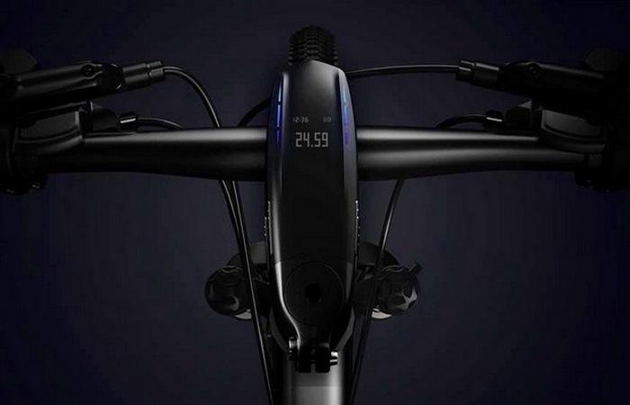 Первый велосипед с интегрированным компьютером
