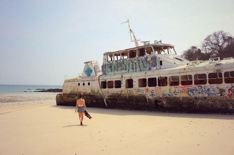 Заброшенный райский уголок на курортном острове в Панаме