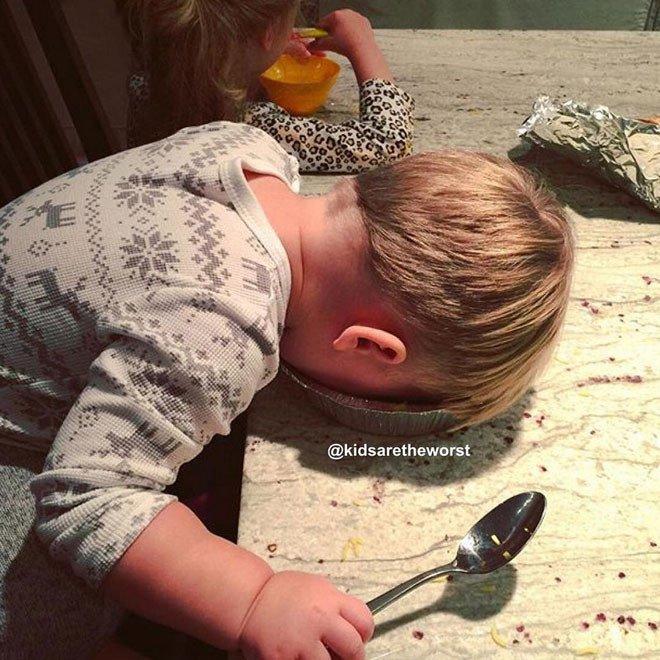 Когда дети остаются без присмотра: Instagram аккаунт KidsAreTheWorst