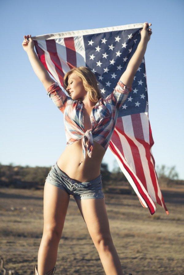 Красивые девушки из американской глубинки