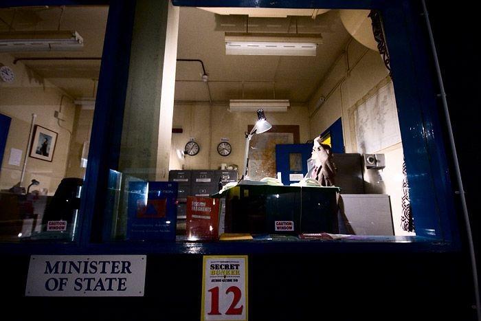 Подземный бункер в Шотландии