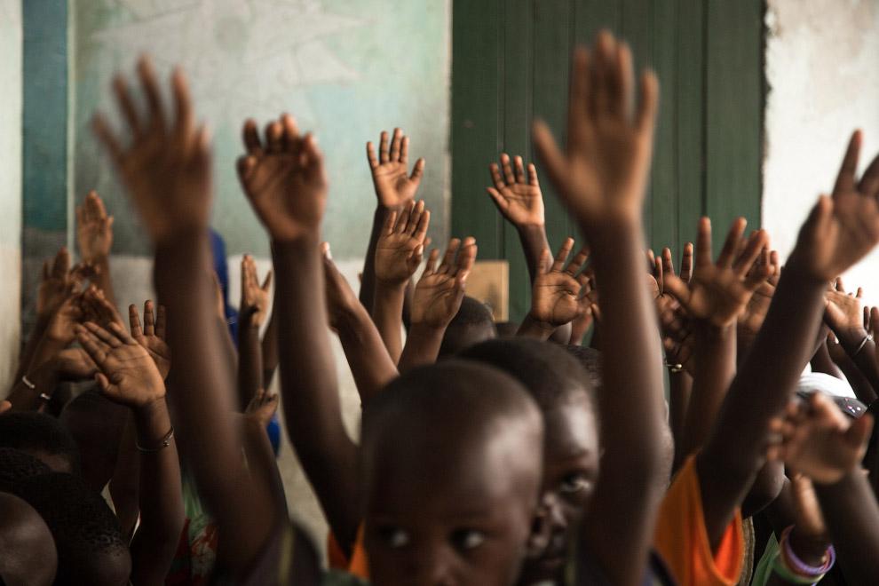 В религиозной школе Сенегала