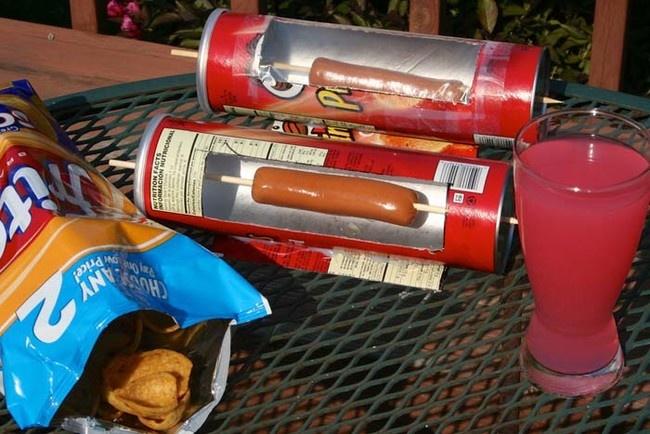 10 полезных вещей, которые можно смастерить из цилиндрической упаковки из-под чипсов