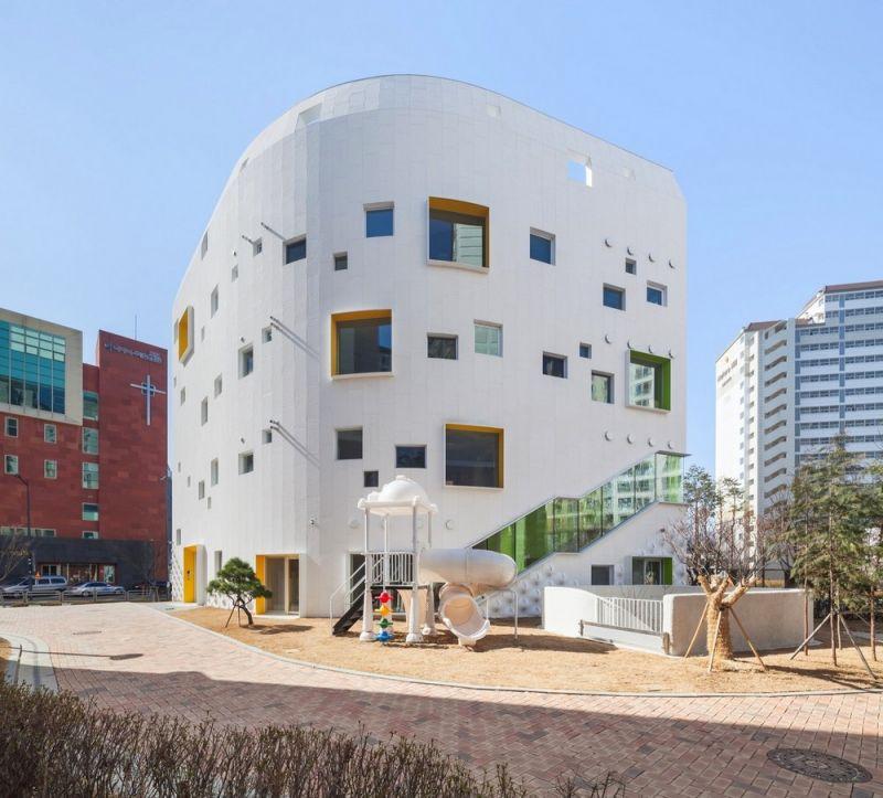 Необычный детский сад в Южной Корее