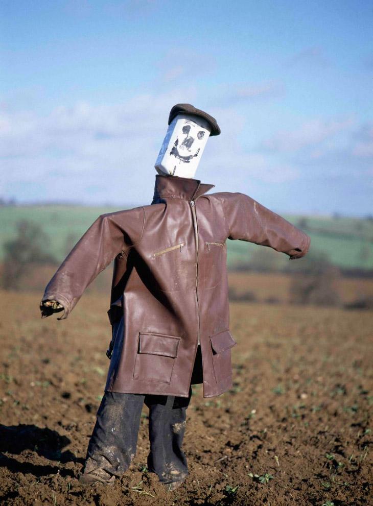 Пугала и чучела из сельской местности Англии