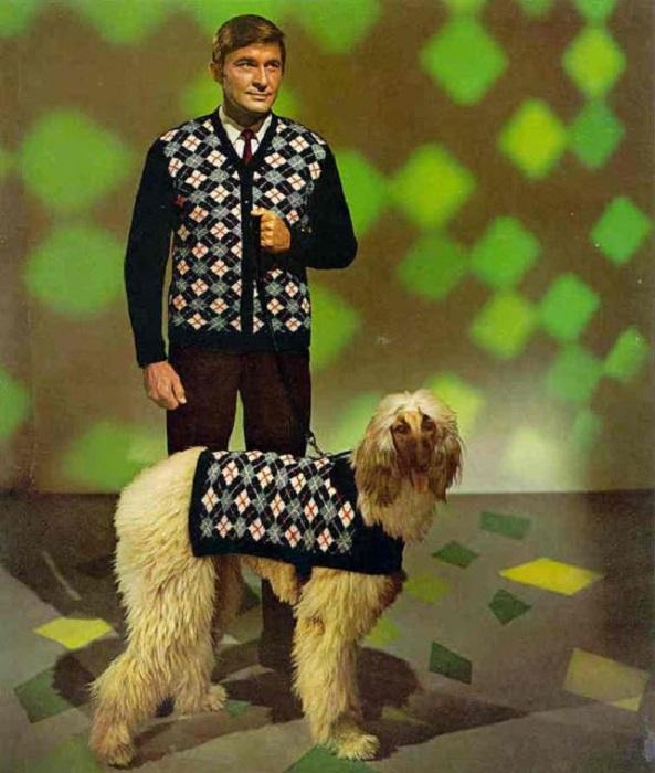 Яркая мужская мода из журналов 70-х