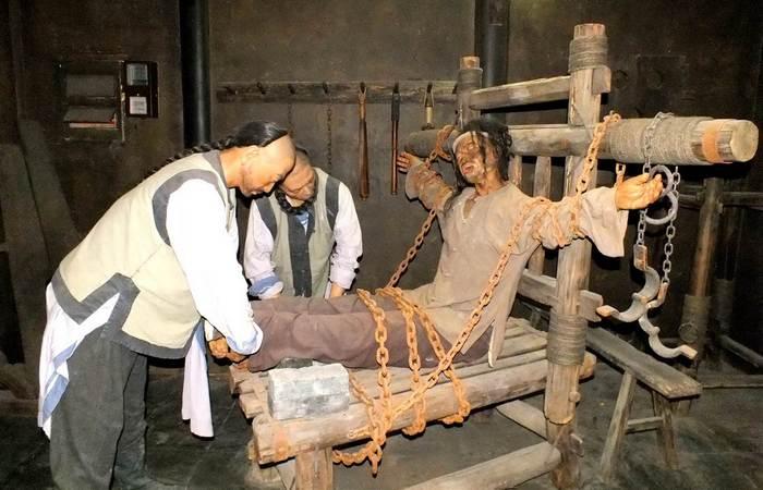 Жестокие пытки из прошлого