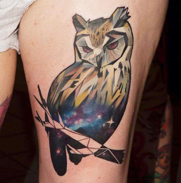 25 космических татуировок для любителей астрономии