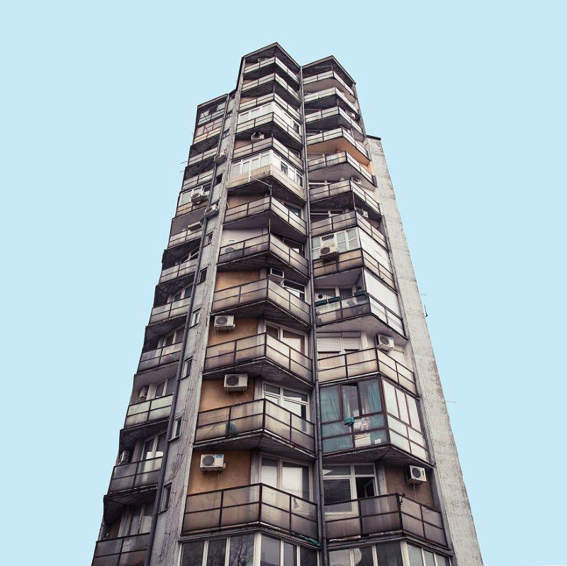 Футуристическая архитектура в Белграде
