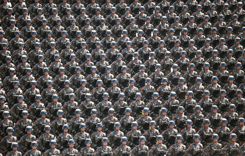 Искусство толпы в Китае