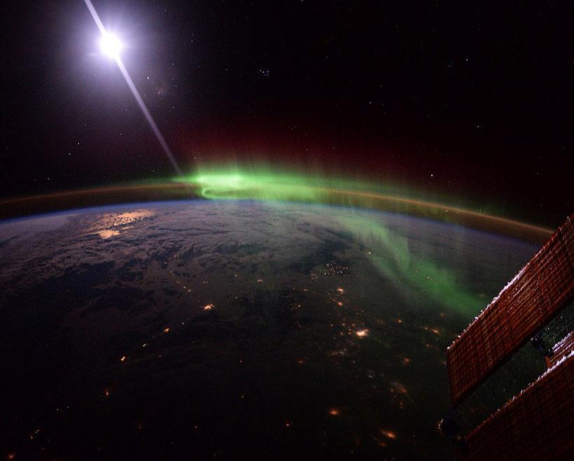 Последние фотографии космоса с МКС
