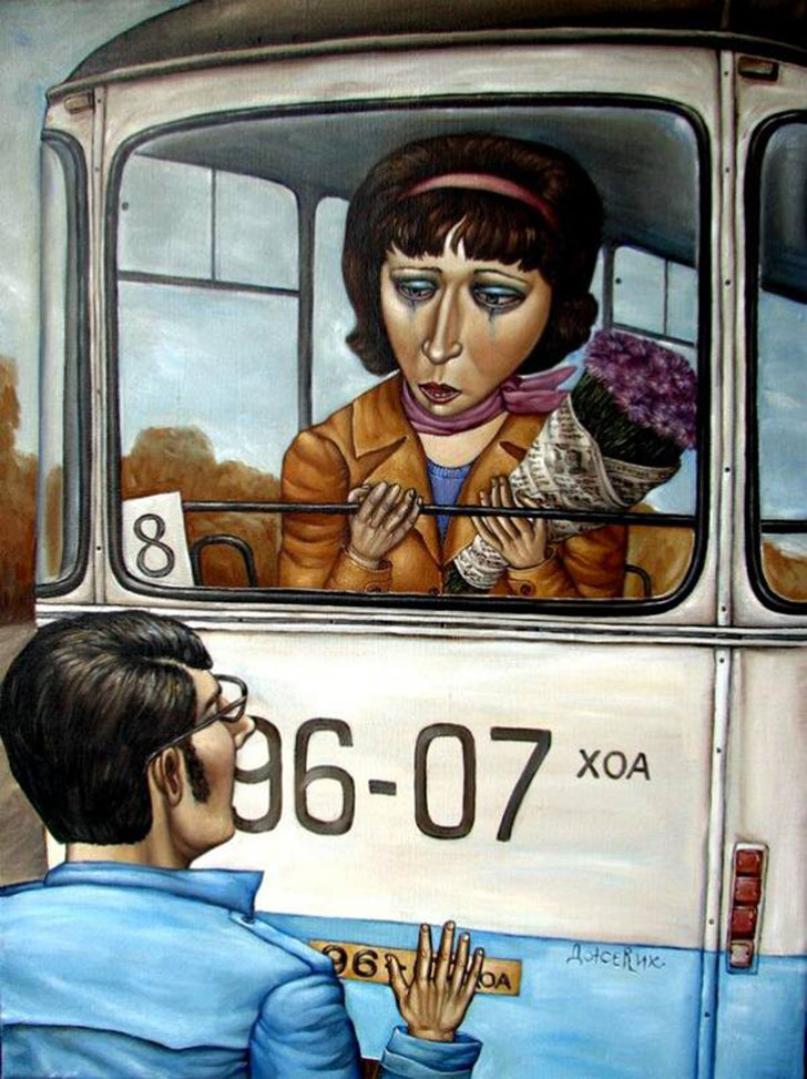 Советский дух в картинах Анжелы Джерих