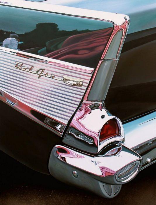 Невероятно реалистичные рисунки автомобилей