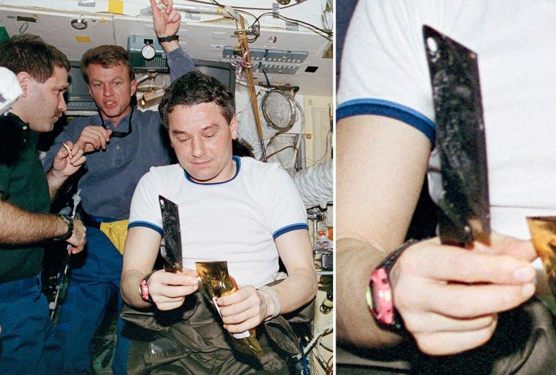 Полный список оружия, которое космонавты брали на орбиту