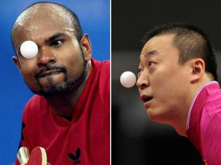 Игроки в пинг-понг или заклинатели пластикового мяча