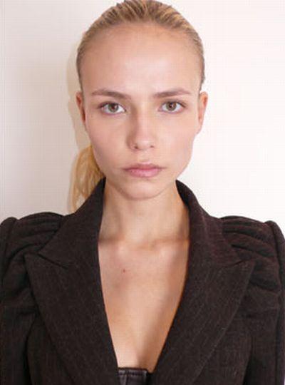 Модели без макияжа