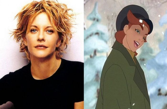 Персонажи мультфильмов, которые выглядят и говорят, как знаменитости
