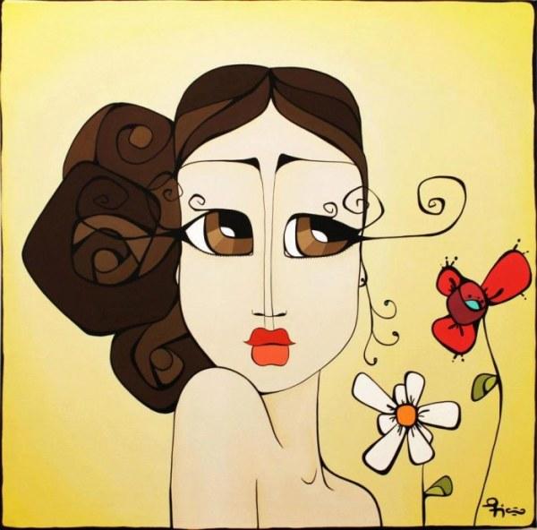 Яркие изображения влюблённых женщин