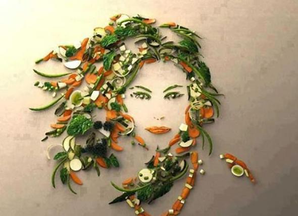Когда еда превращается в настоящие искусство