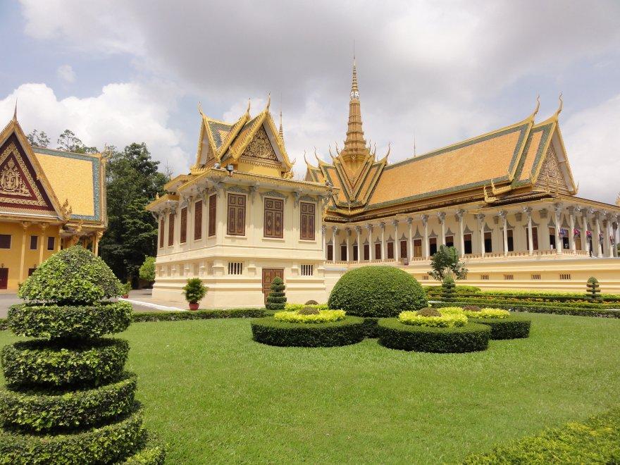 Королевский дворец в Камбодже