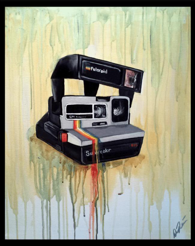 Удивительные картины от безрукой калифорнийской художницы