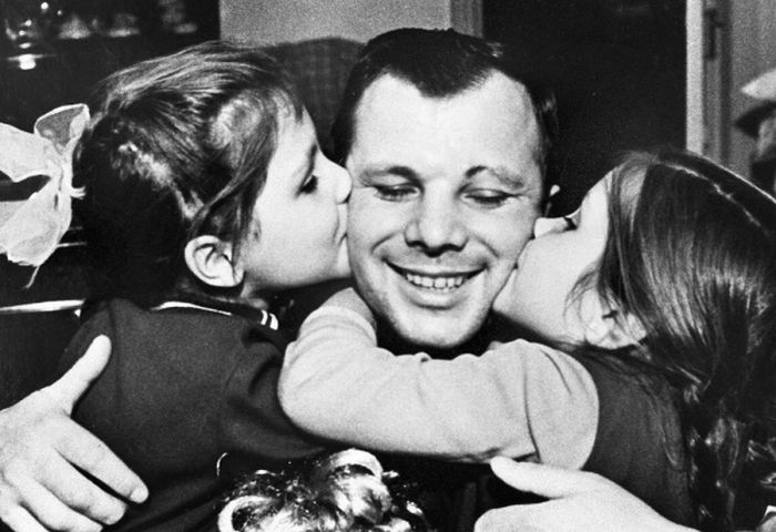 Редкие фото Юрия Гагарина в День космонавтики