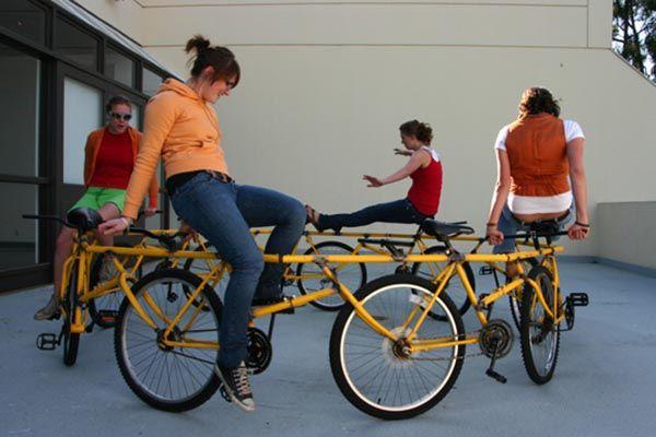 Самые смешные велосипеды