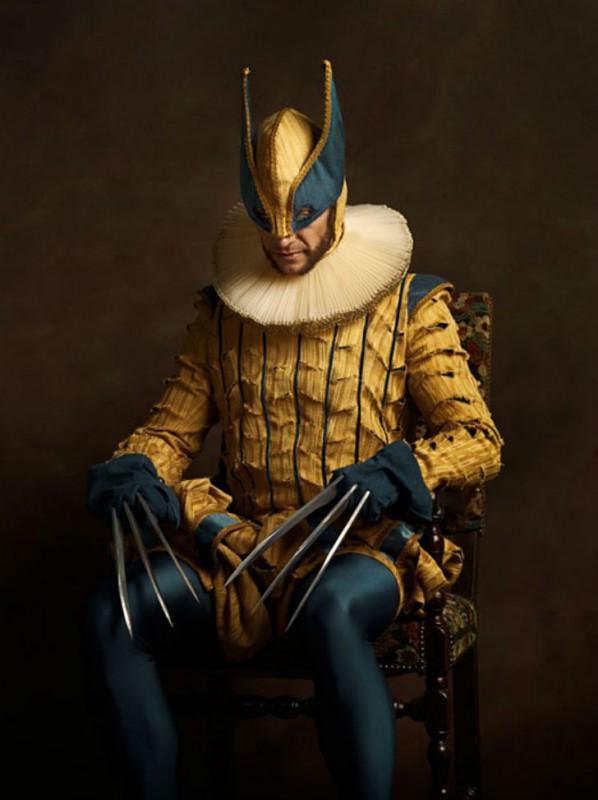 Супергерои и злодеи на картинах фламандских художников