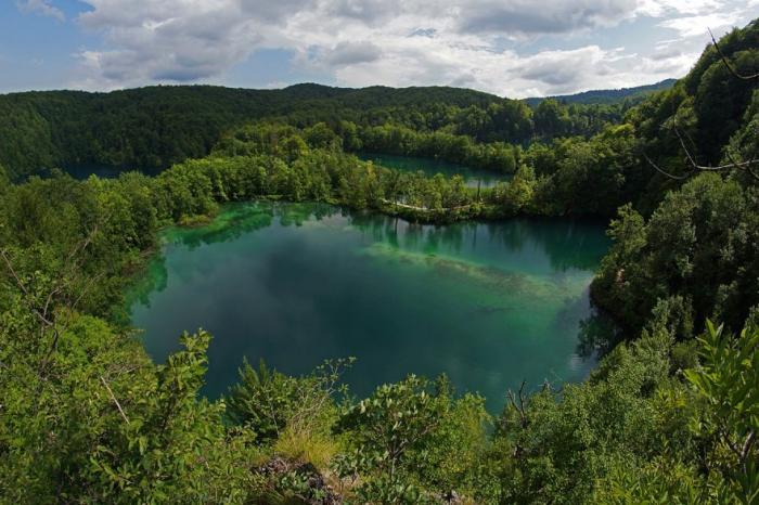 Потрясающие Плитвицкие озера в Хорватии
