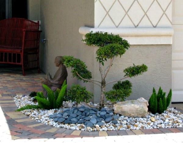 Свежие идеи использования камней в ландшафтном дизайне