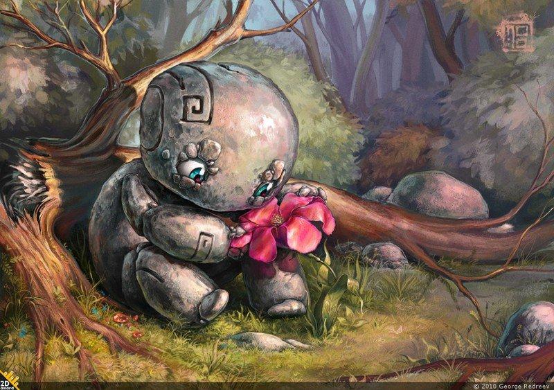 Впечатляющие иллюстрации от Георгия Редреева