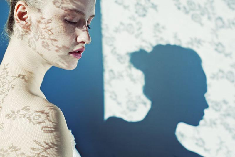 Чувственные женские портреты от Андреа Хабнер