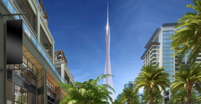 Проект самого высокого здания мира в Дубае