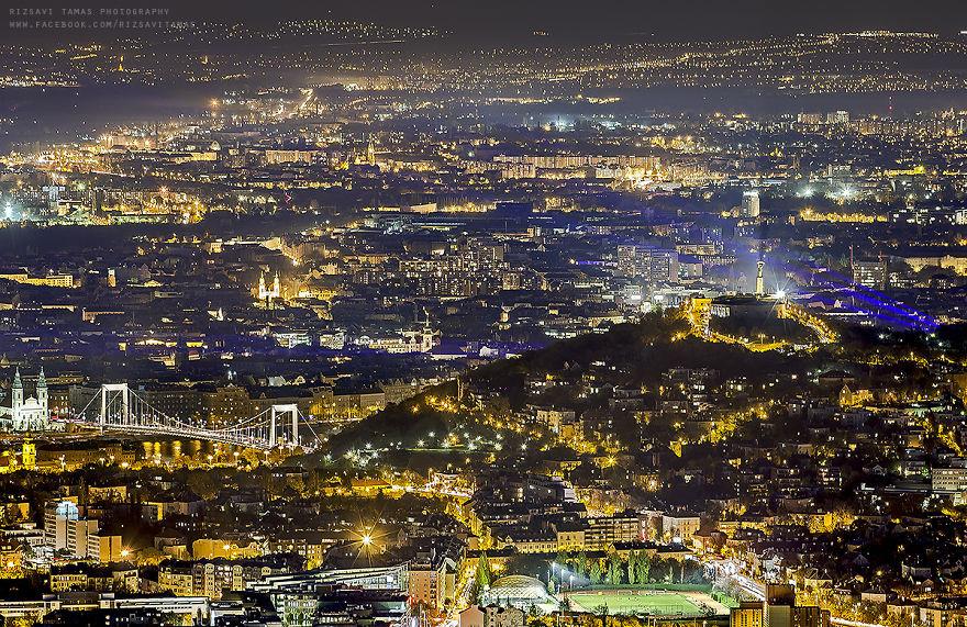 Рискуя собственной жизнью, мужчина делает потрясающие фотографии Будапешта