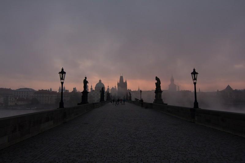 Самые чарующие мосты в Праге