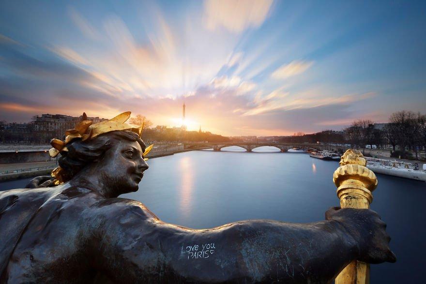 Залитые солнцем пейзажи от Жульена Грондина