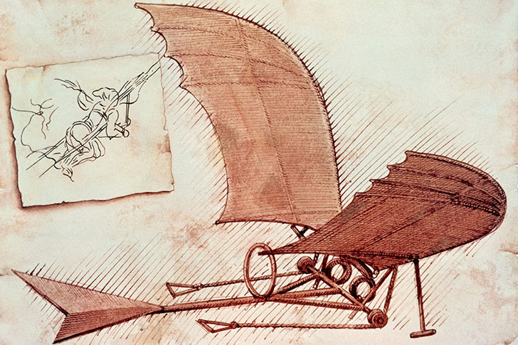 10 революционных идей Леонардо да Винчи