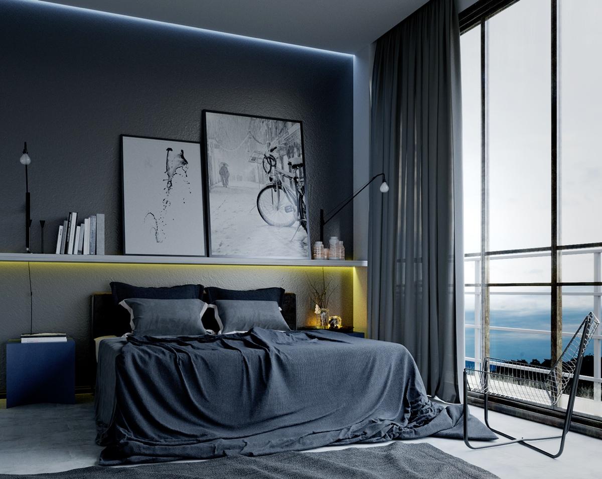 Впечатляющие идеи освещения спальни